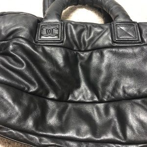 CHANEL Bags - Chanel coco cocoon Xl lambskin leather tote bag